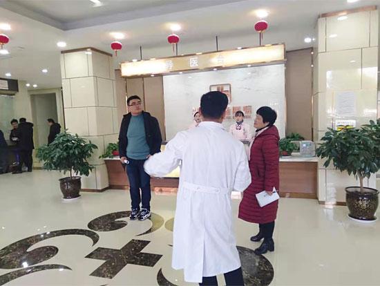 阜阳市卫健委对阜阳兆岐肛肠医院进行医疗质量安全专项检查
